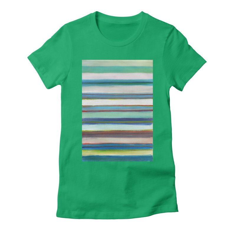 Franjas Women's Fitted T-Shirt by diegomanuel's Artist Shop