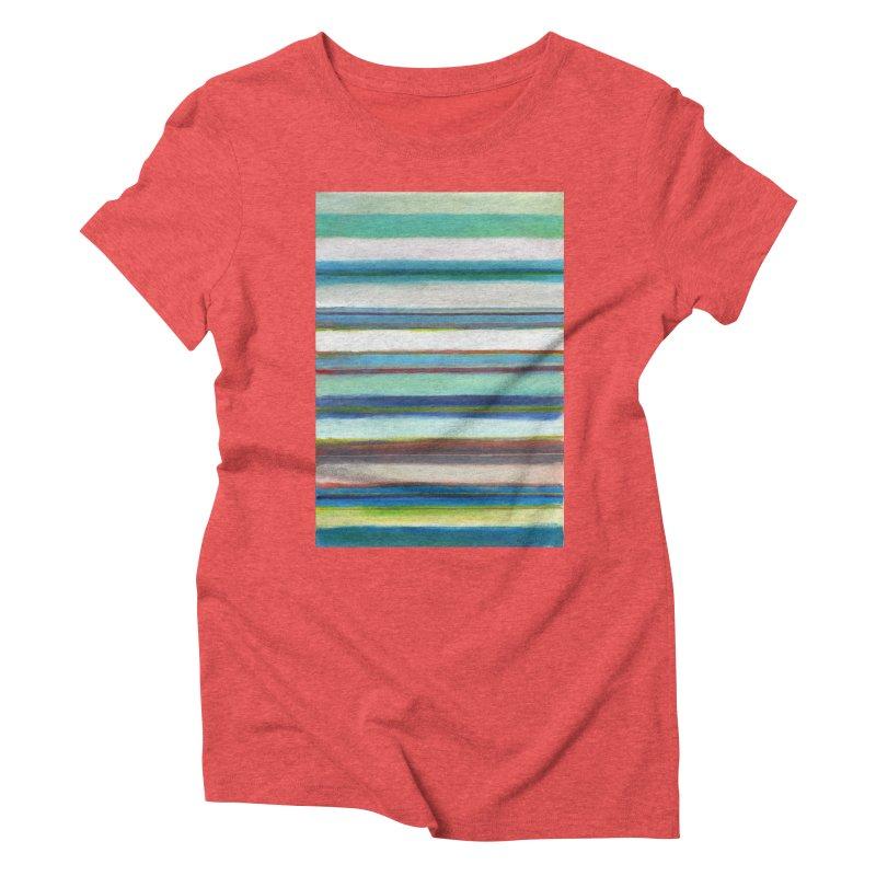 Franjas Women's Triblend T-Shirt by diegomanuel's Artist Shop