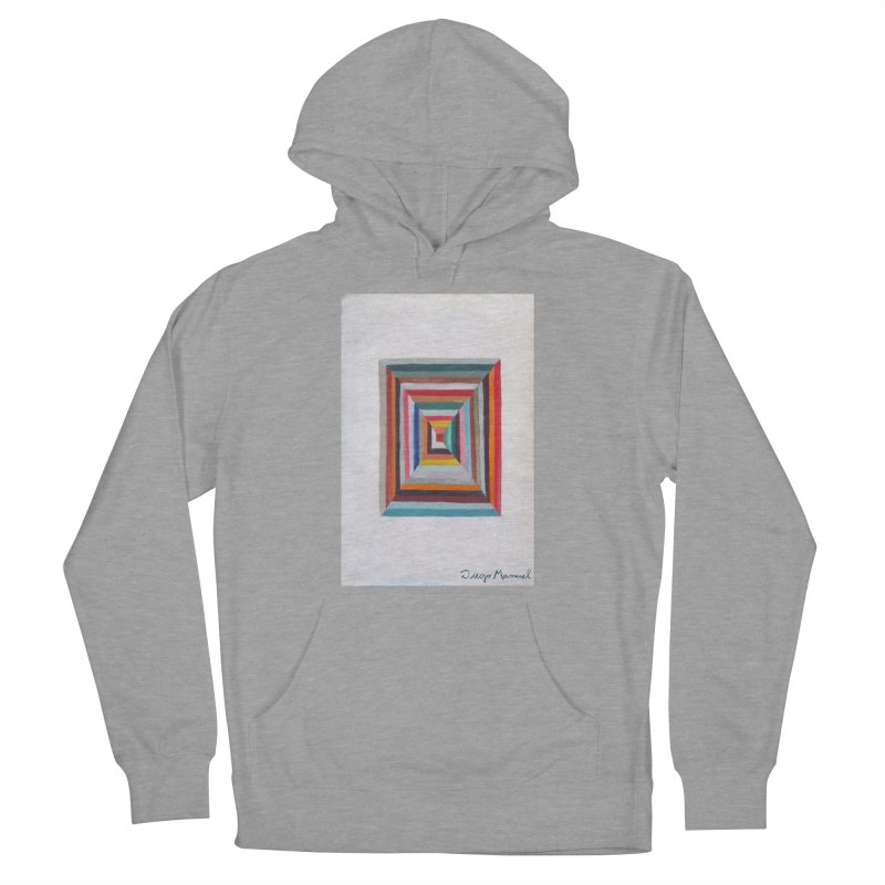 Magic Square Women's French Terry Pullover Hoody by diegomanuel's Artist Shop