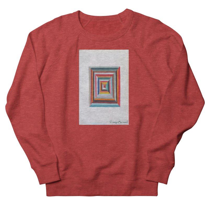 Magic Square Women's French Terry Sweatshirt by diegomanuel's Artist Shop