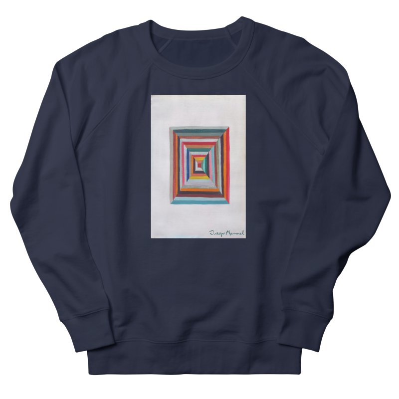 Magic Square Women's French Terry Sweatshirt by diegomanuel's Artist Shop
