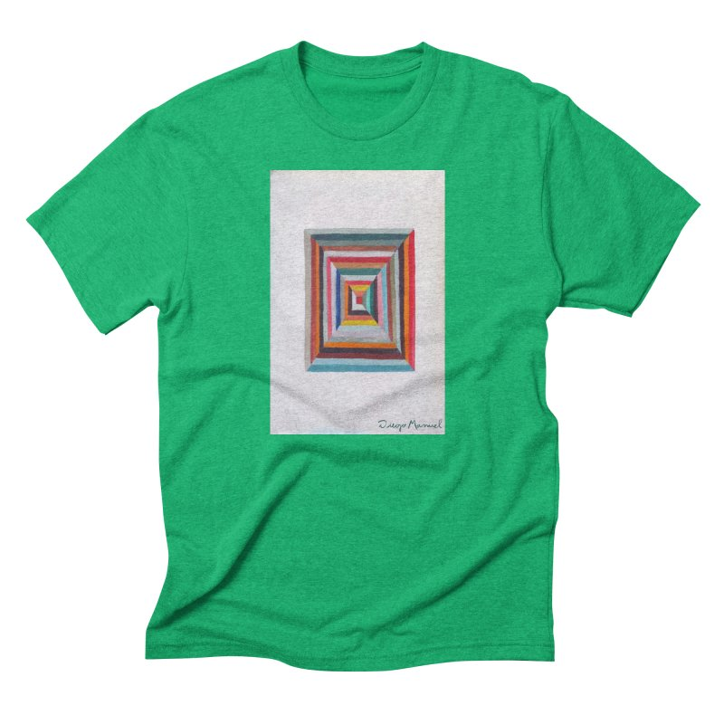 Magic Square Men's Triblend T-Shirt by diegomanuel's Artist Shop