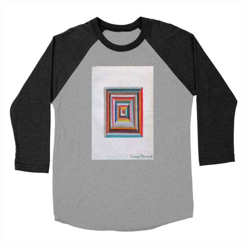 Magic Square Women's Baseball Triblend Longsleeve T-Shirt by diegomanuel's Artist Shop