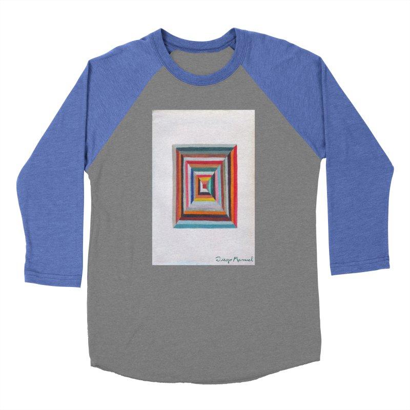 Magic Square Men's Baseball Triblend Longsleeve T-Shirt by diegomanuel's Artist Shop