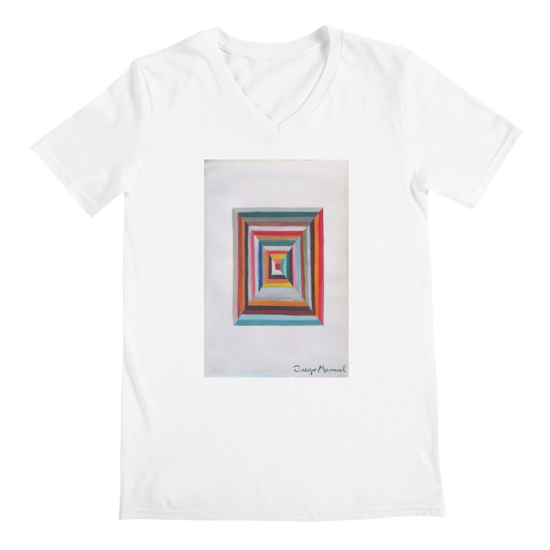 Magic Square Men's V-Neck by diegomanuel's Artist Shop