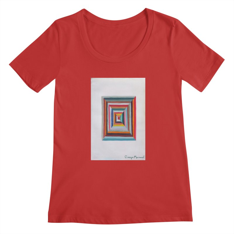 Magic Square Women's Regular Scoop Neck by diegomanuel's Artist Shop