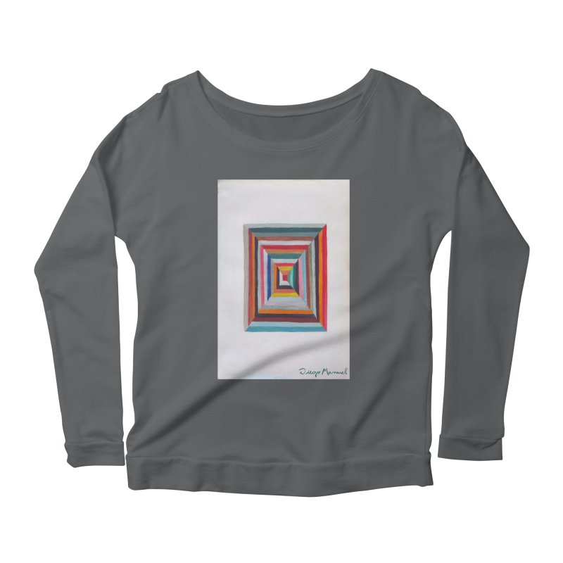 Magic Square Women's Scoop Neck Longsleeve T-Shirt by diegomanuel's Artist Shop