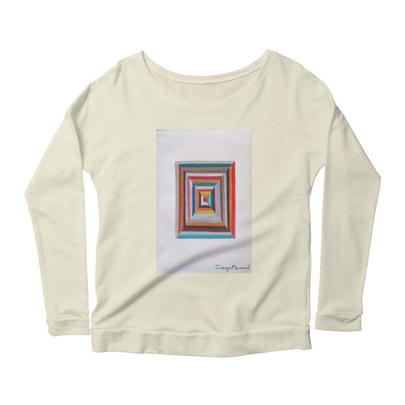 Magic Square Women's Scoop Neck Longsleeve T-Shirt by diegomanuel's Artist Shop
