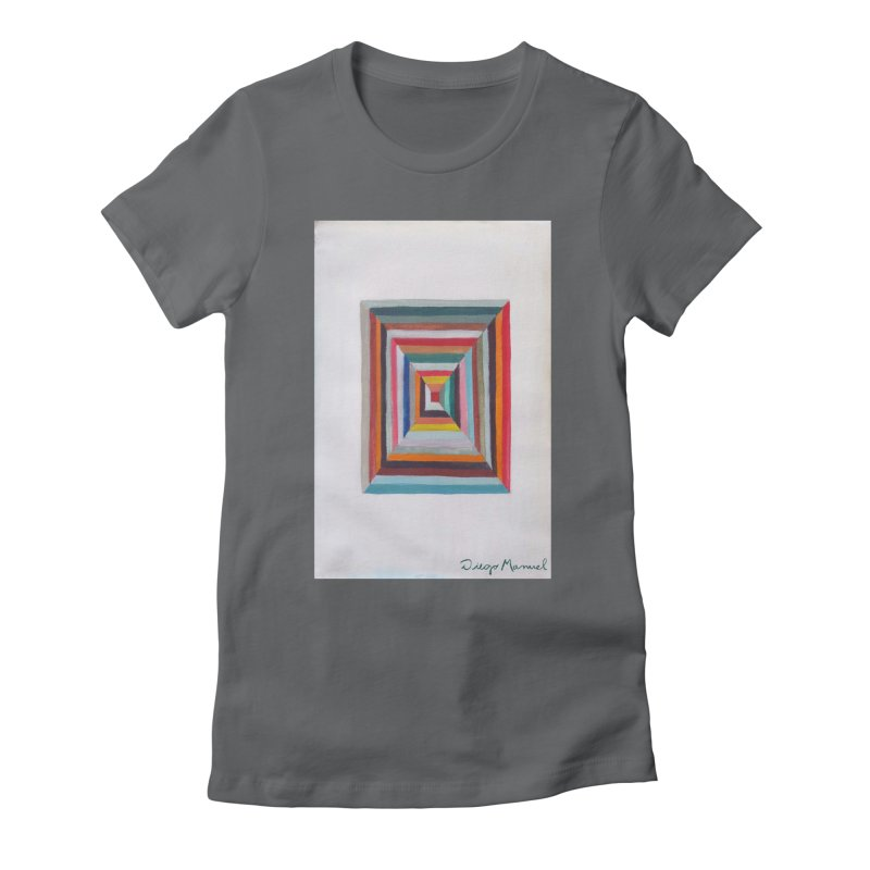 Magic Square Women's Fitted T-Shirt by diegomanuel's Artist Shop