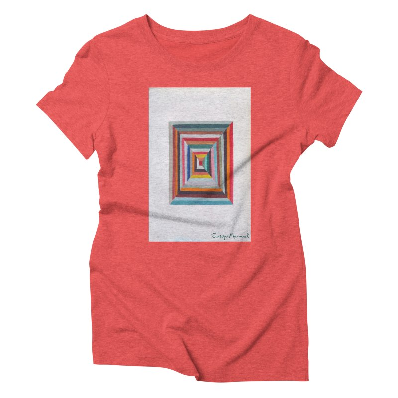 Magic Square Women's Triblend T-Shirt by diegomanuel's Artist Shop
