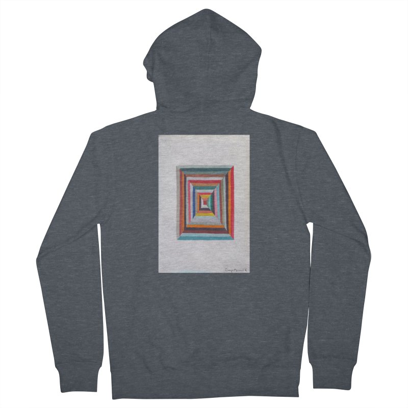 Cuadrado mágico Men's Zip-Up Hoody by diegomanuel's Artist Shop