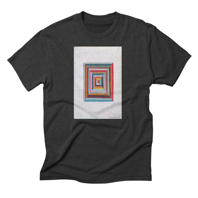 Cuadrado mágico Men's Triblend T-shirt by diegomanuel's Artist Shop