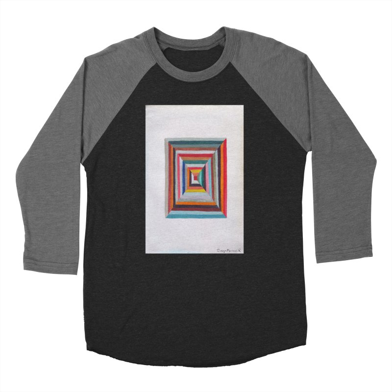 Cuadrado mágico Women's Baseball Triblend T-Shirt by diegomanuel's Artist Shop