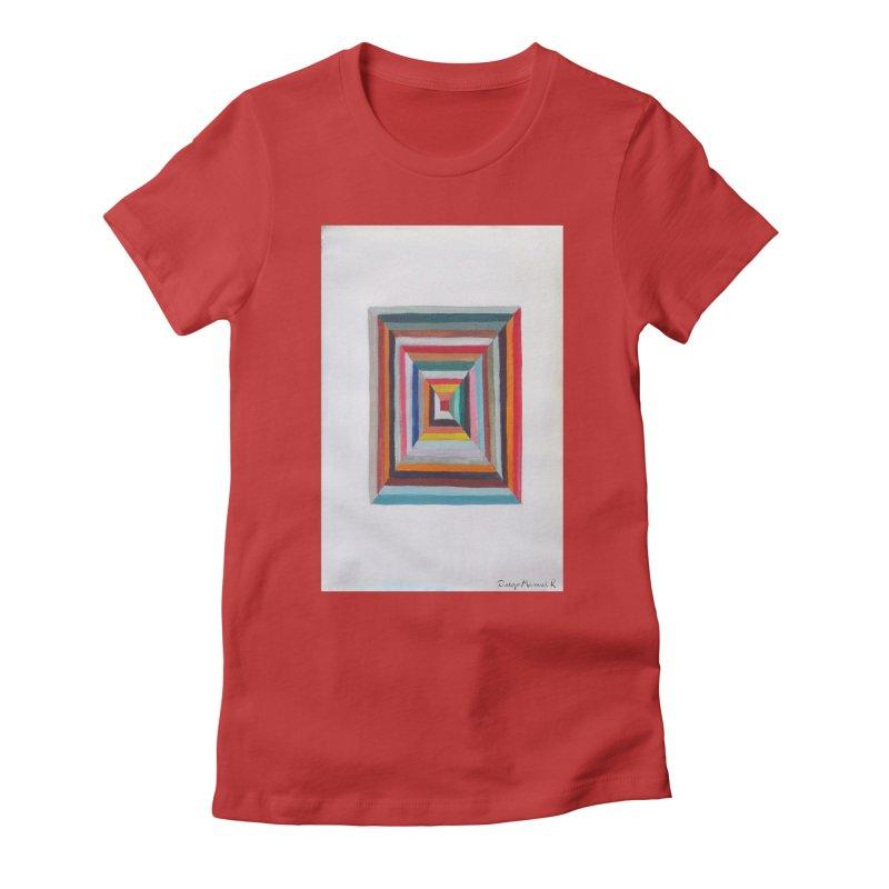 Cuadrado mágico Women's Fitted T-Shirt by diegomanuel's Artist Shop