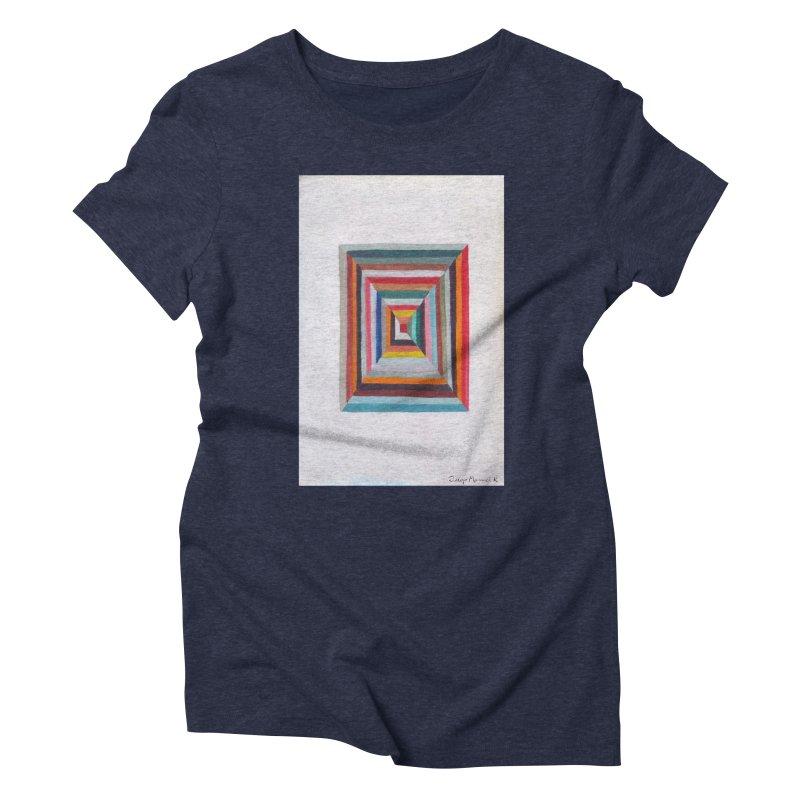 Cuadrado mágico Women's Triblend T-shirt by diegomanuel's Artist Shop