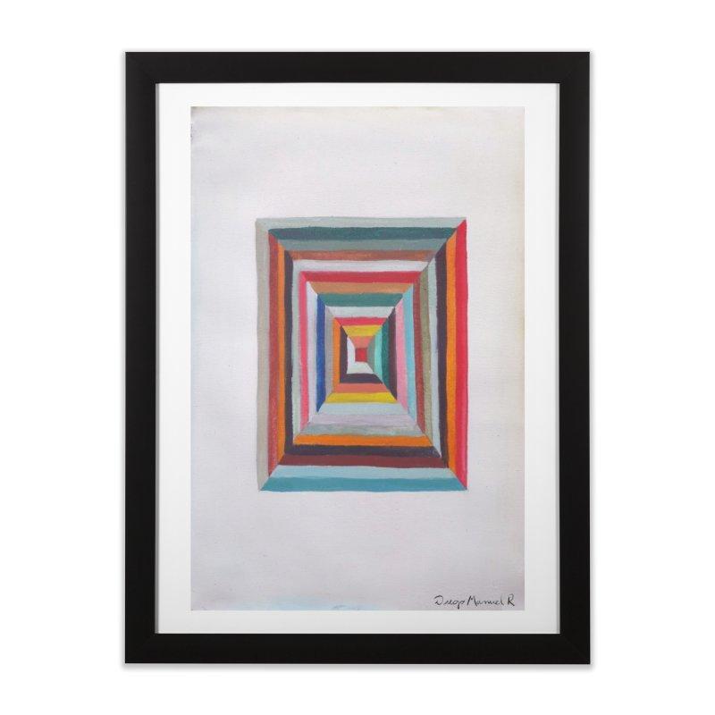 Cuadrado mágico Home Framed Fine Art Print by diegomanuel's Artist Shop