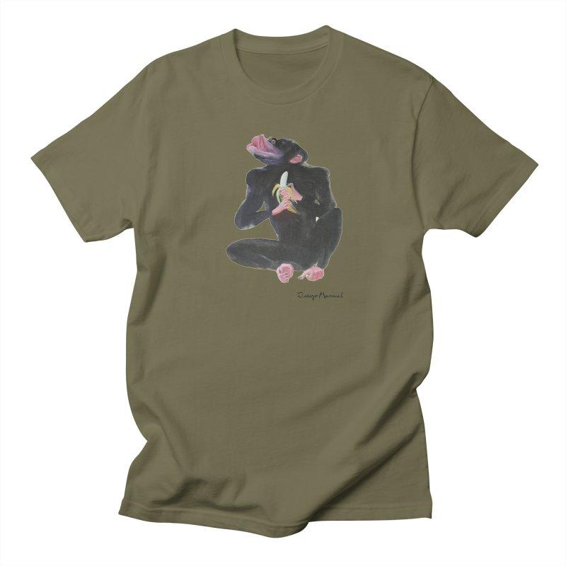 Bananas monkey Men's Regular T-Shirt by diegomanuel's Artist Shop