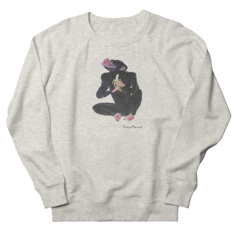 Bananas monkey Men's Sweatshirt by diegomanuel's Artist Shop