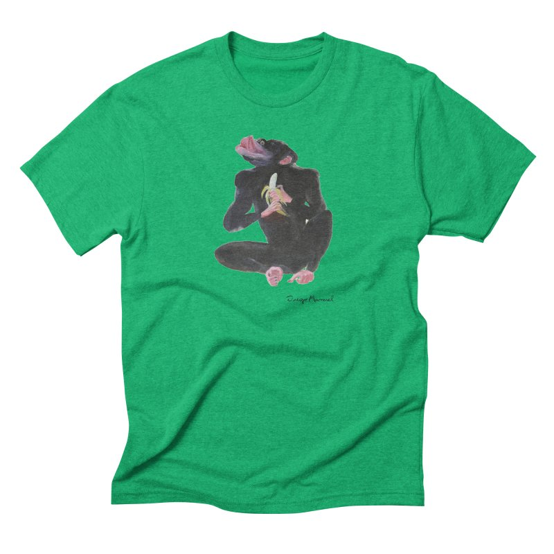 Bananas monkey Men's Triblend T-Shirt by diegomanuel's Artist Shop
