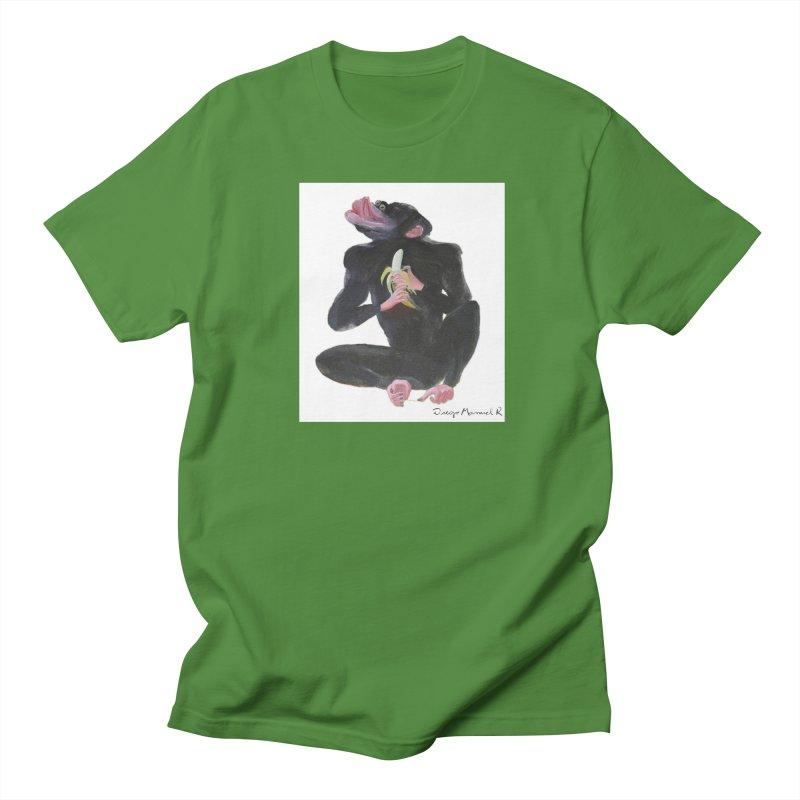Bananas monkey Women's Unisex T-Shirt by diegomanuel's Artist Shop