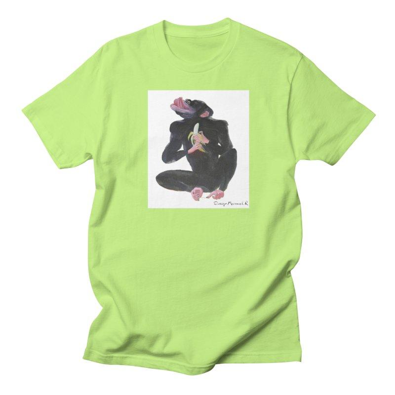Bananas monkey Men's T-shirt by diegomanuel's Artist Shop