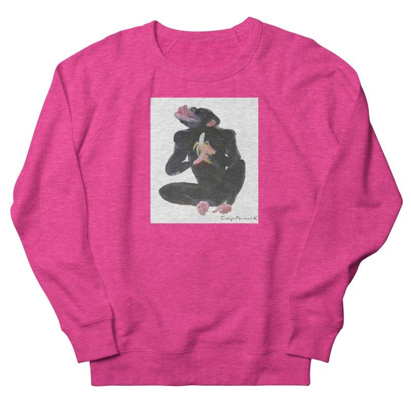Bananas monkey Women's Sweatshirt by diegomanuel's Artist Shop