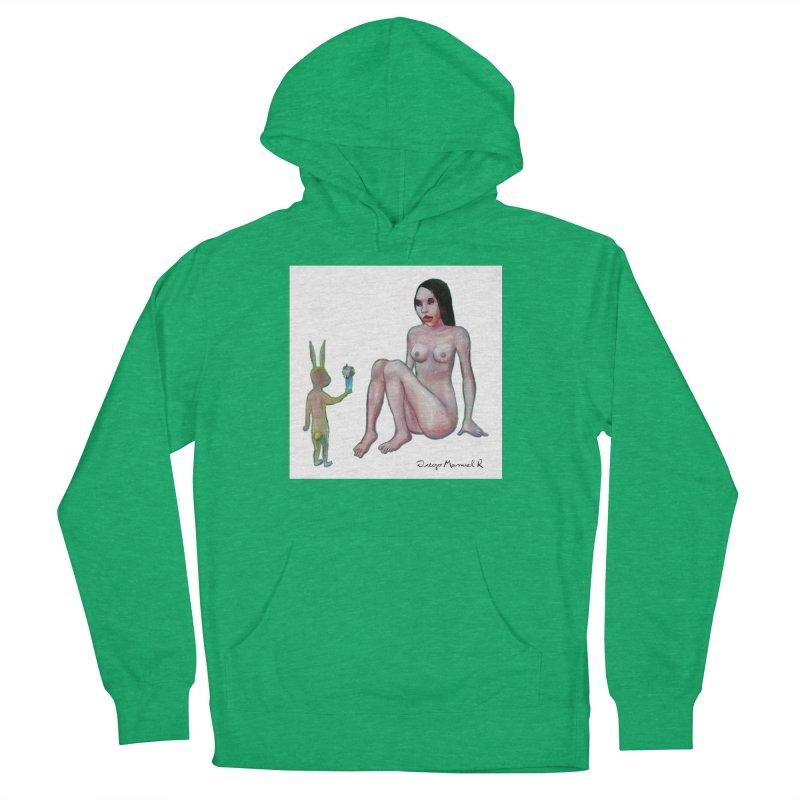 El conejo enamorado Women's Pullover Hoody by diegomanuel's Artist Shop