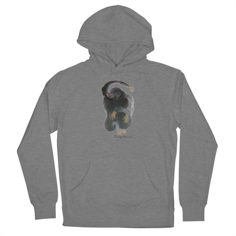 Gorilla 2 Women's Pullover Hoody by Diego Manuel Rodriguez Artist Shop