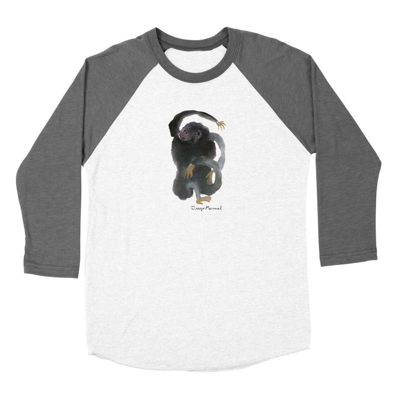 Gorilla 2 Women's Longsleeve T-Shirt by Diego Manuel Rodriguez Artist Shop