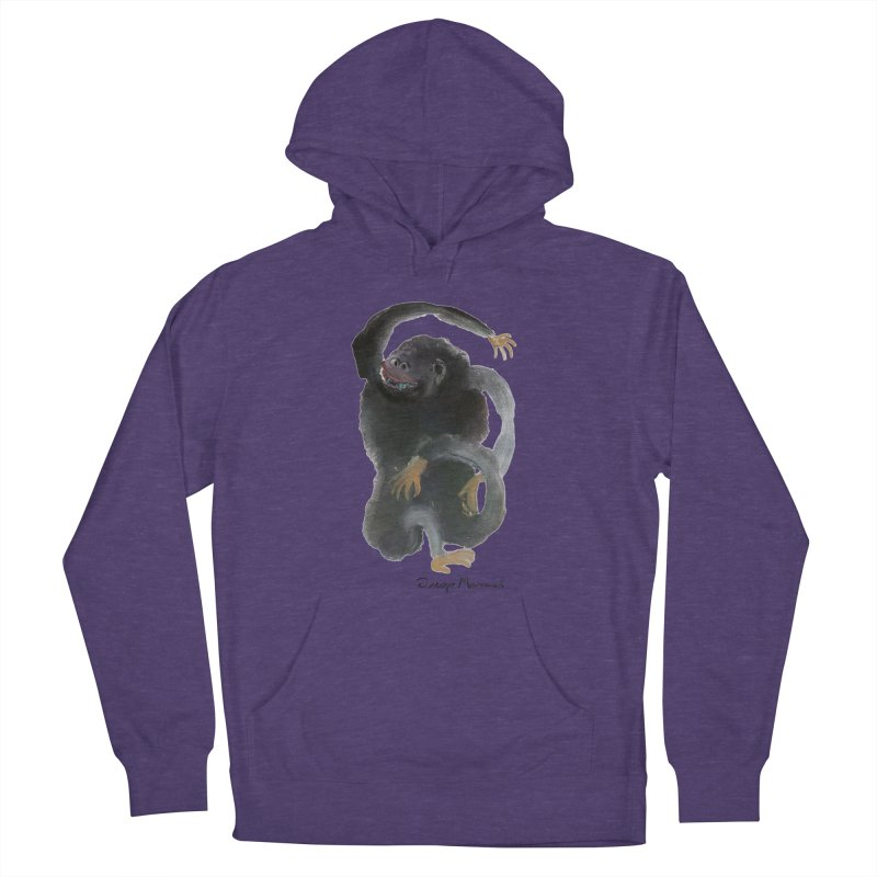 Gorilla 2 Women's French Terry Pullover Hoody by diegomanuel's Artist Shop