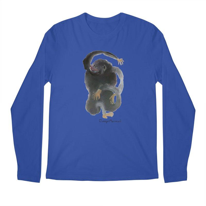 Gorilla 2 Men's Regular Longsleeve T-Shirt by diegomanuel's Artist Shop