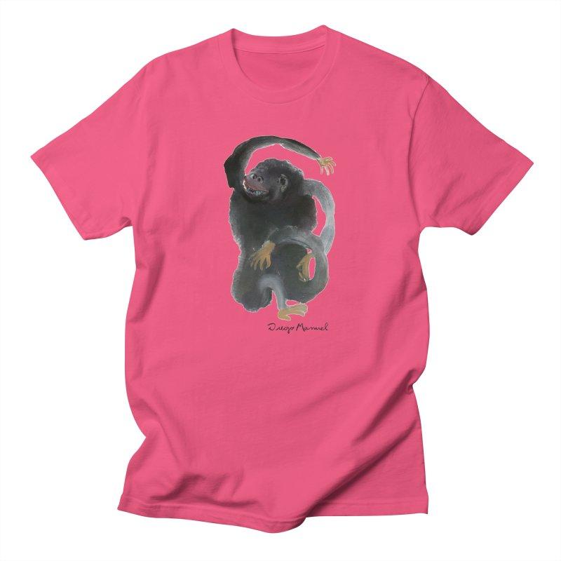 Gorilla 2 Men's T-Shirt by Diego Manuel Rodriguez Artist Shop