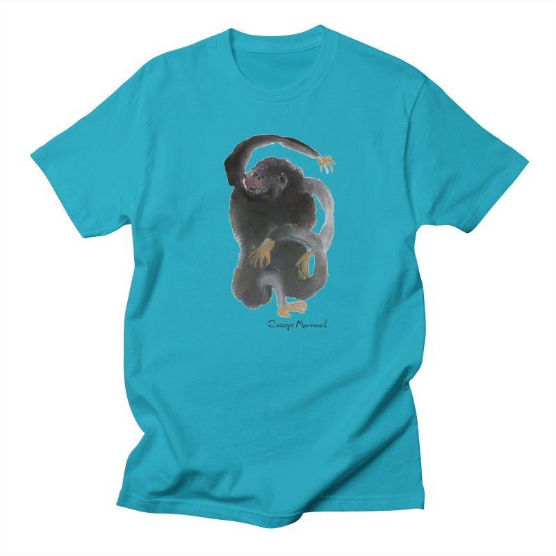 Gorilla 2 Men's Regular T-Shirt by diegomanuel's Artist Shop