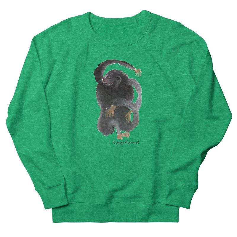 Gorilla 2 Women's Sweatshirt by Diego Manuel Rodriguez Artist Shop