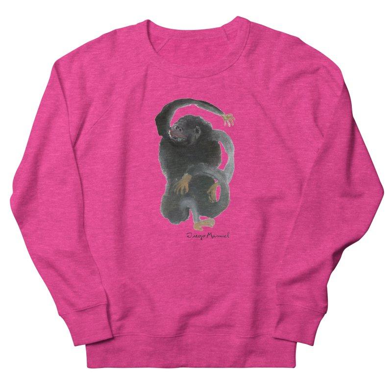 Gorilla 2 Women's French Terry Sweatshirt by diegomanuel's Artist Shop