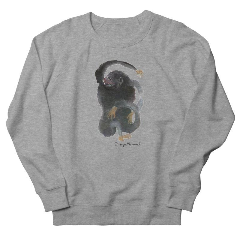 Gorilla 2 Men's French Terry Sweatshirt by diegomanuel's Artist Shop