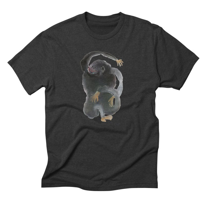 Gorilla 2 Men's Triblend T-Shirt by diegomanuel's Artist Shop