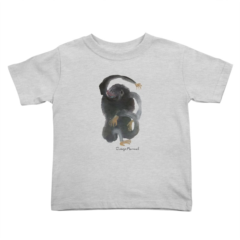 Gorilla 2 Kids Toddler T-Shirt by diegomanuel's Artist Shop