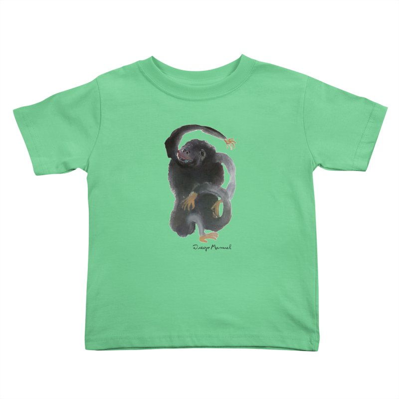 Gorilla 2 Kids Toddler T-Shirt by diegomanuel's Artist Shop