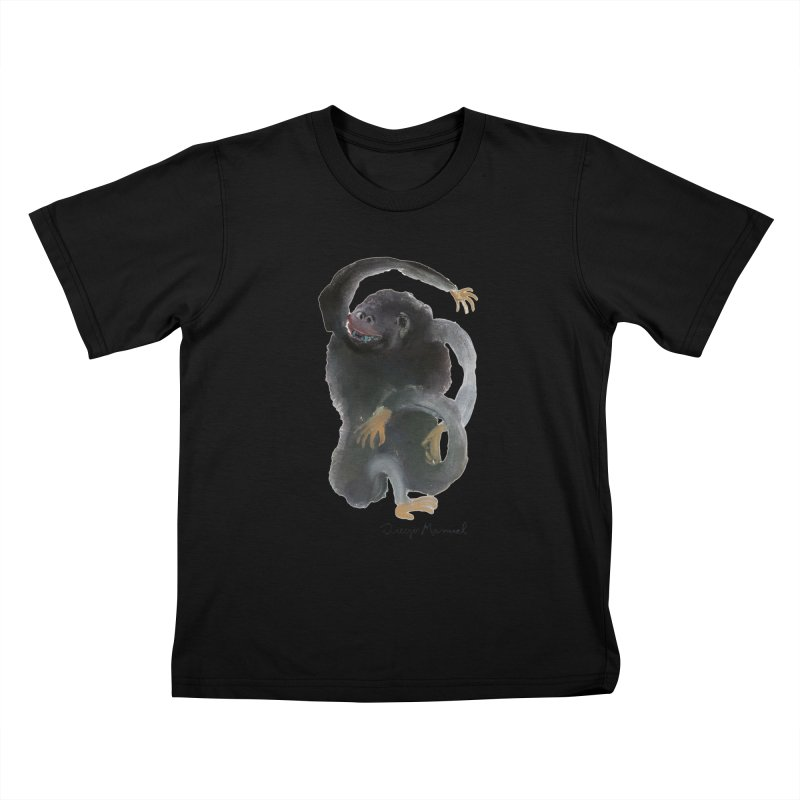 Gorilla 2 Kids T-Shirt by diegomanuel's Artist Shop
