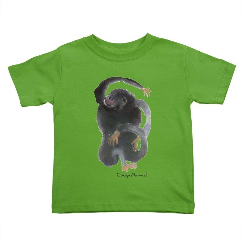 Gorilla 2 Kids Toddler T-Shirt by Diego Manuel Rodriguez Artist Shop