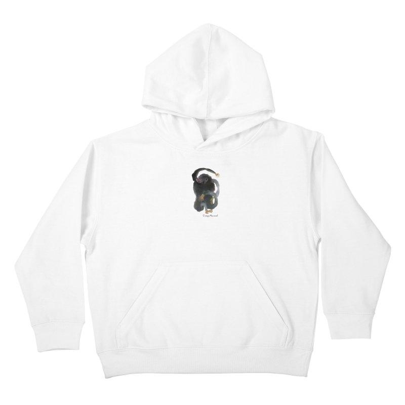 Gorilla 2 Kids Pullover Hoody by diegomanuel's Artist Shop