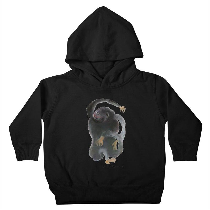 Gorilla 2 Kids Toddler Pullover Hoody by diegomanuel's Artist Shop