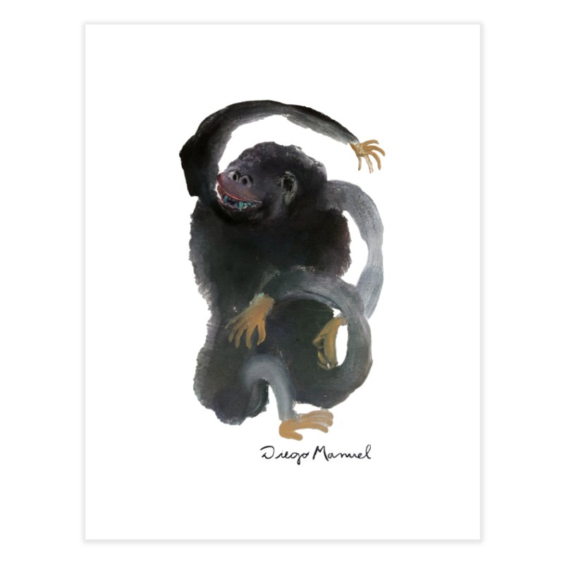 Gorilla 2 Home Fine Art Print by diegomanuel's Artist Shop