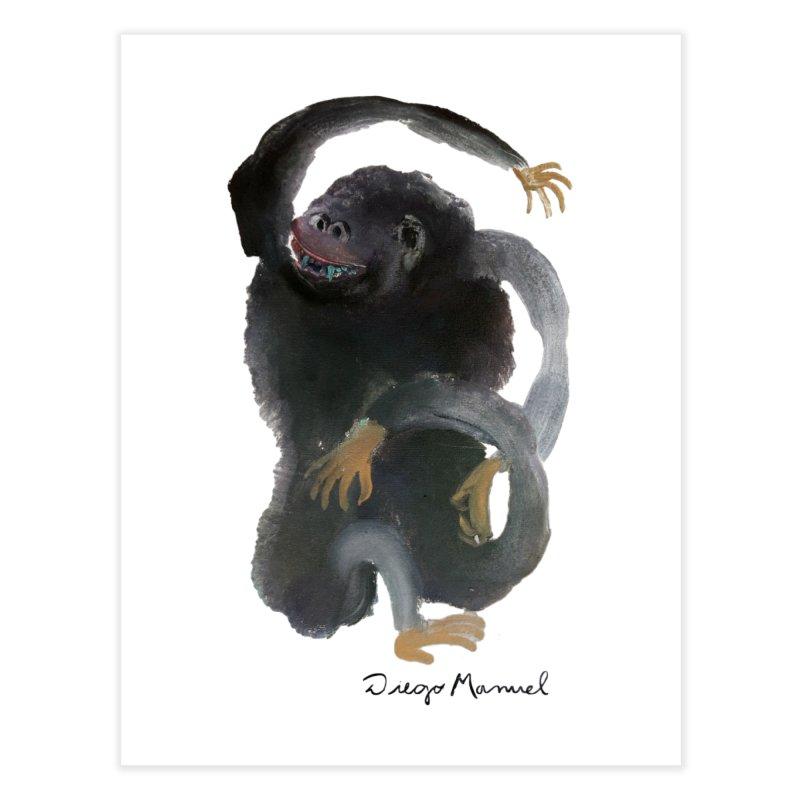 Gorilla 2 Home Fine Art Print by Diego Manuel Rodriguez Artist Shop