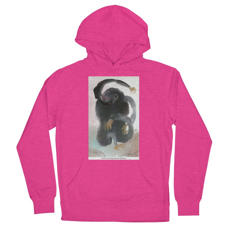 Gorilla 2 Women's Pullover Hoody by diegomanuel's Artist Shop