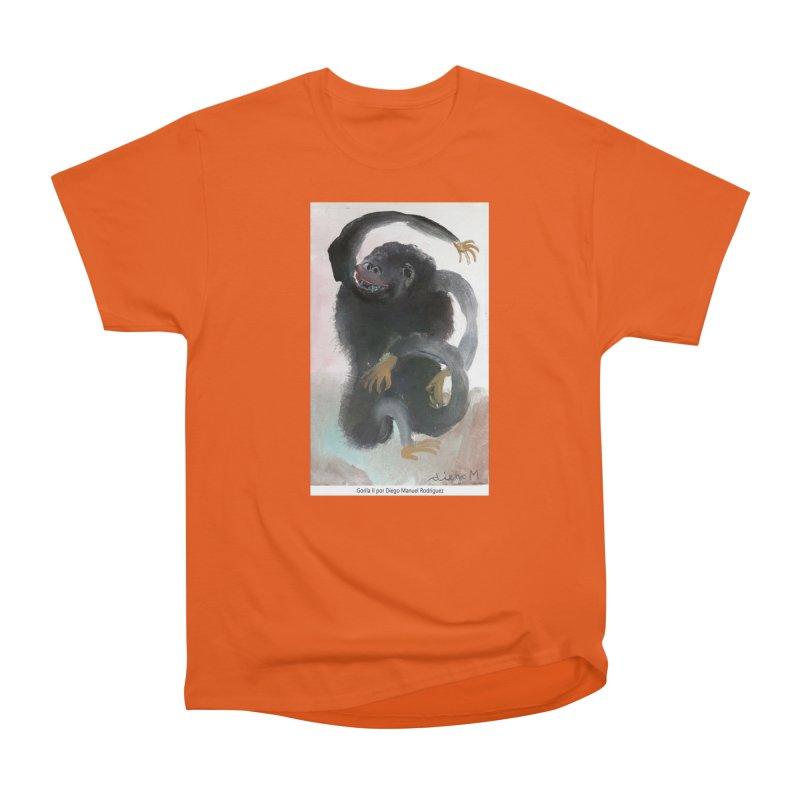 Gorilla 2 Women's Classic Unisex T-Shirt by diegomanuel's Artist Shop