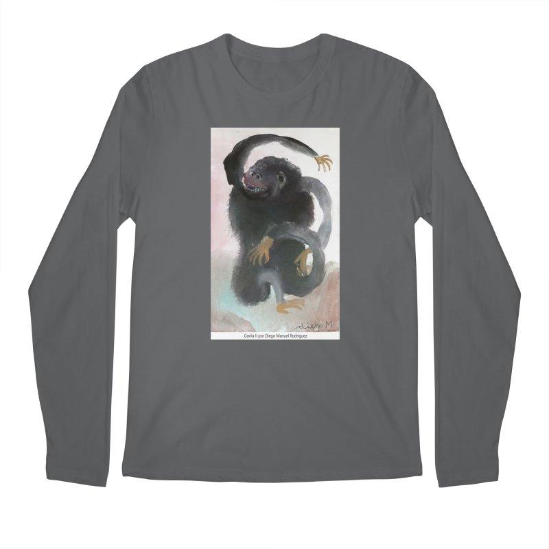 Gorilla 2 Men's Longsleeve T-Shirt by diegomanuel's Artist Shop