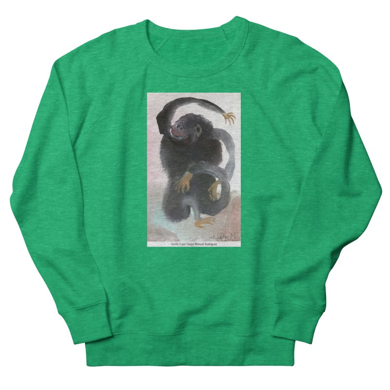 Gorilla 2 Women's Sweatshirt by diegomanuel's Artist Shop