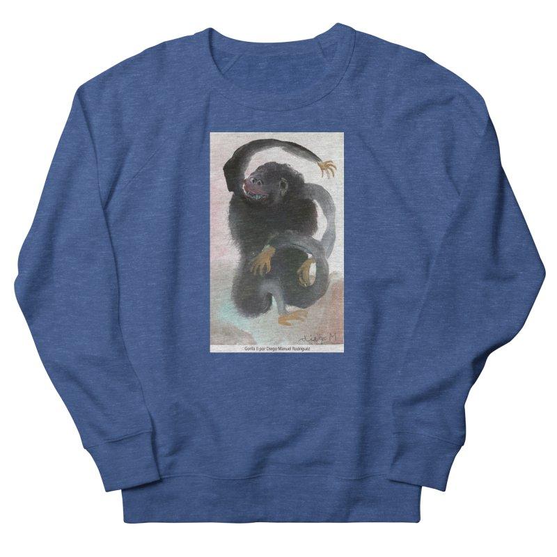 Gorilla 2 Men's Sweatshirt by diegomanuel's Artist Shop